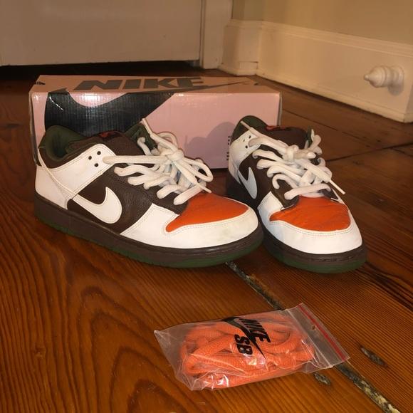 Nike Sb Dunk Low Oompa Loompa
